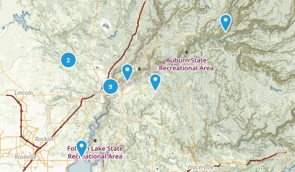 Auburn area Map