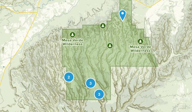 Mesa Verde Map