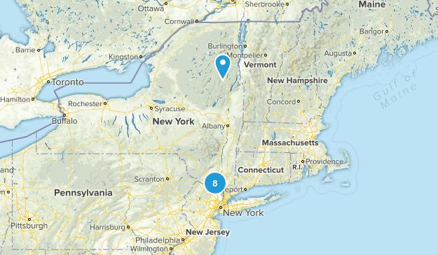 Hudson Highlands - NY Map