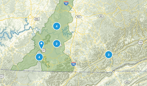 East Ky Map