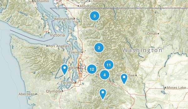 Training Hikes Map