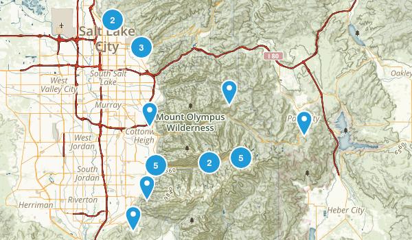 Trails worth hiking again Map