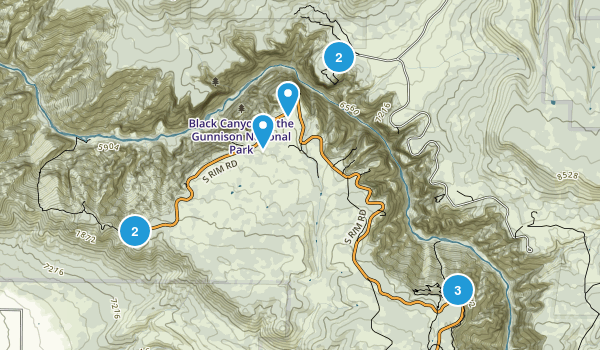 Black Canyon NP Map