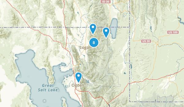 Northern Utah Map