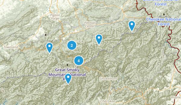 GSMNP Map