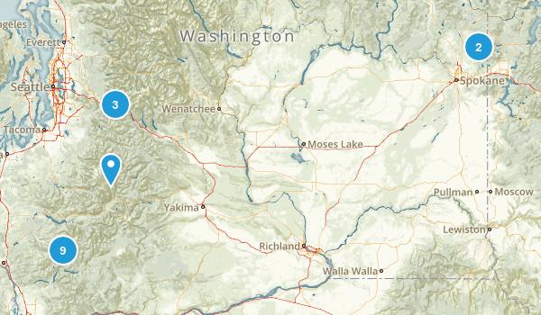 WA - Road Trip Map