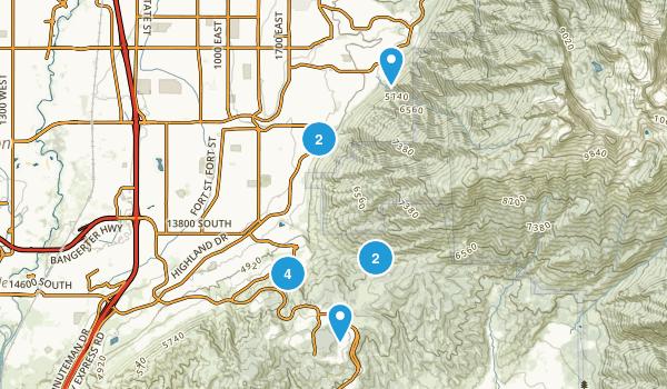 close to Draper Map