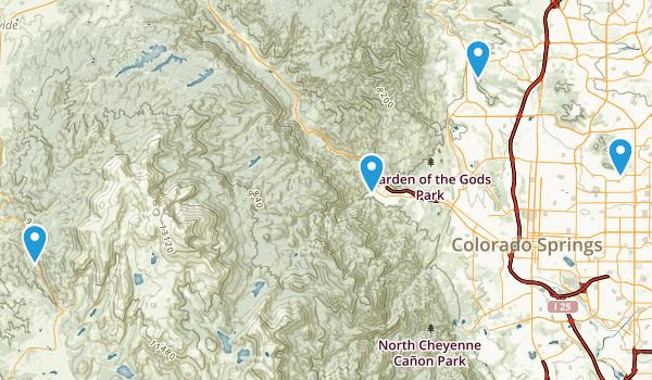 Cascade-Park Map