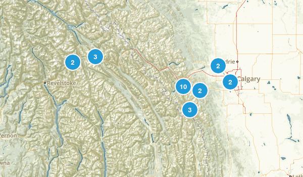 Calgary Area Map