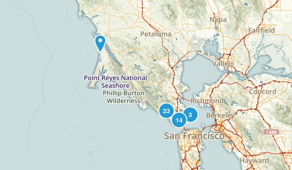Marin County Map