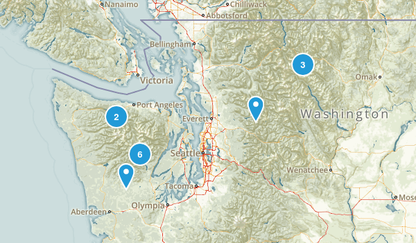 Next Time - Washington Map