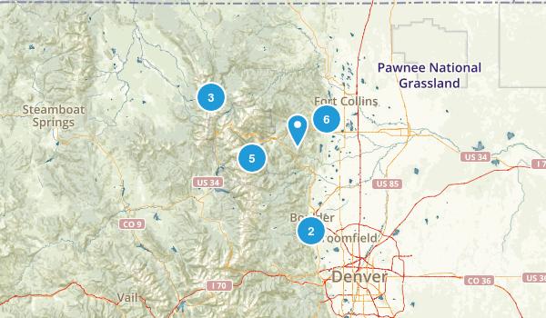Northern Colorado Map