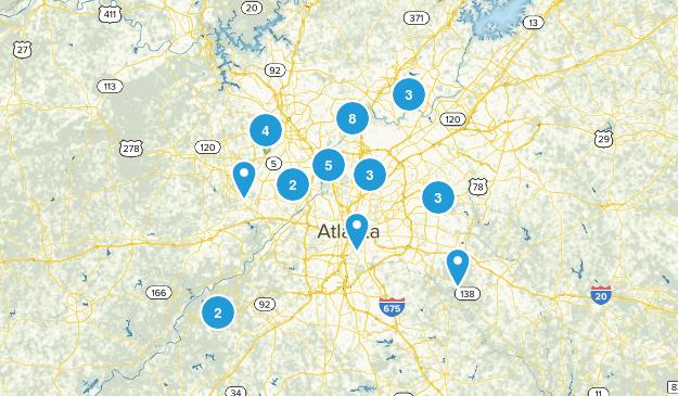 GA - Atlanta Metro Map