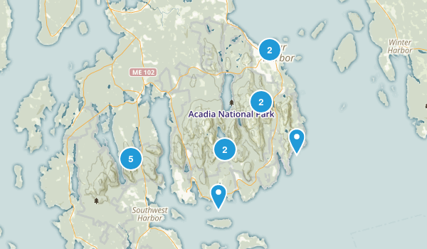 Acadia To Do Map
