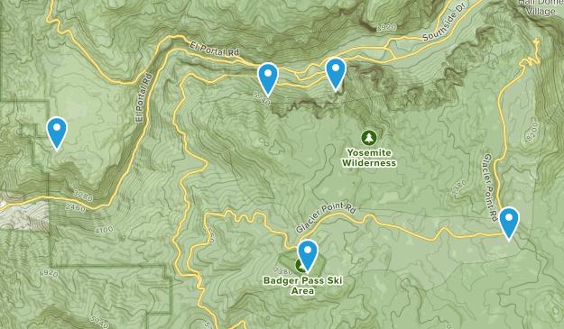 Yosemite 2017 Map