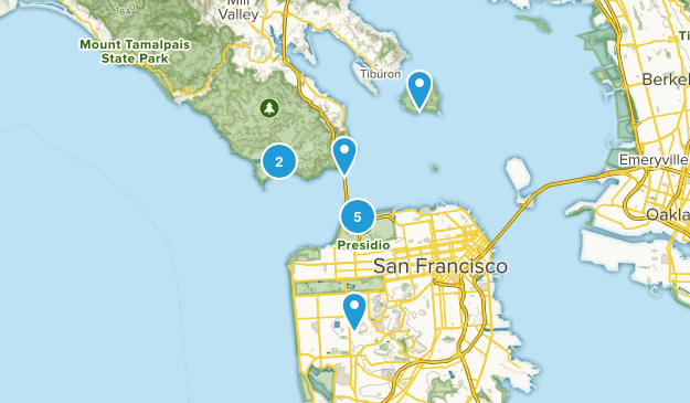 SF Area Map