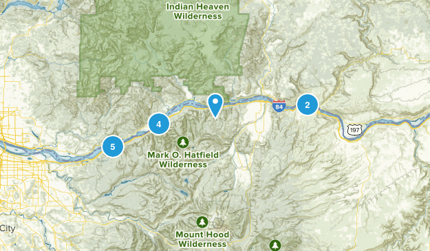 The Gorge Map