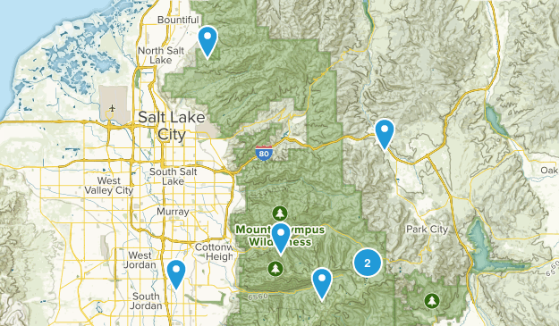 Hikes with Nicky Map