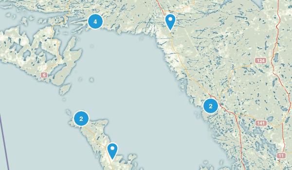 Bruce Provincial Park/Georgian Bay Map
