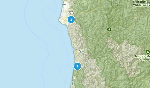 Redwood NP 2017 Map