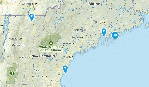 Acadia w/ Mom Map
