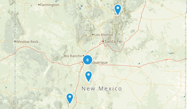 ABQ Trails Map