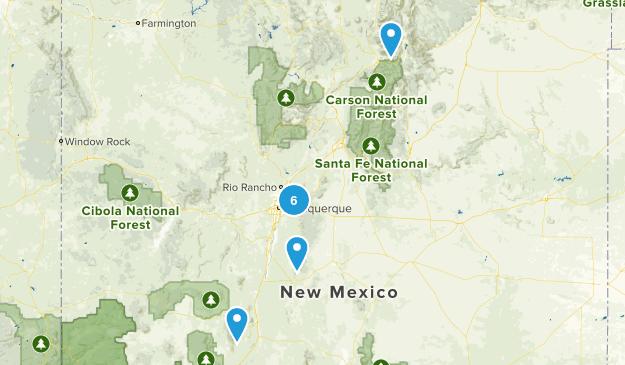 ABQ Trails Map