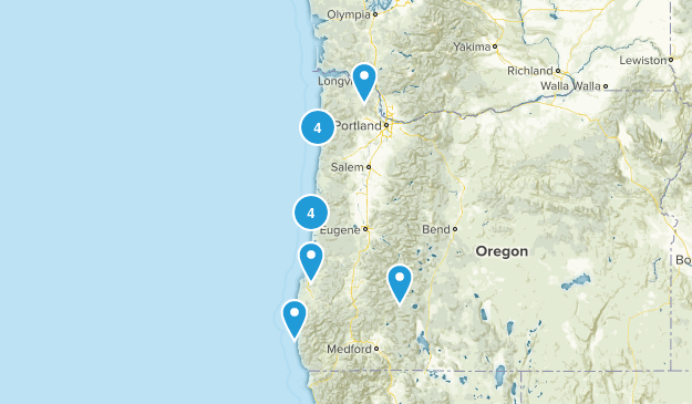 oregon with mom Map