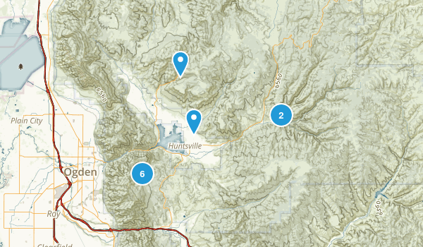 East Weber County Map