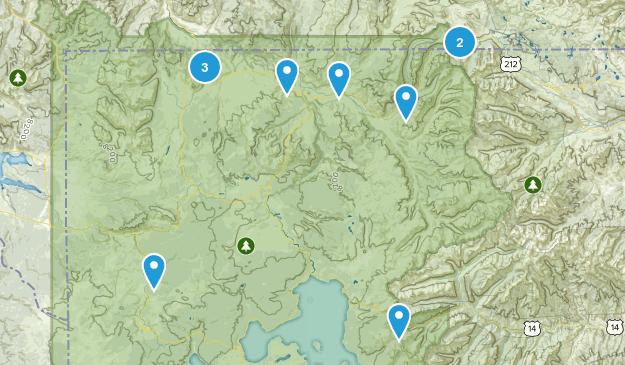Yellowstone Trails Map