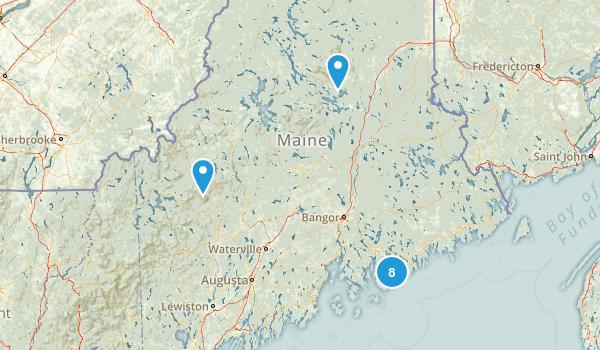 maine trip Map