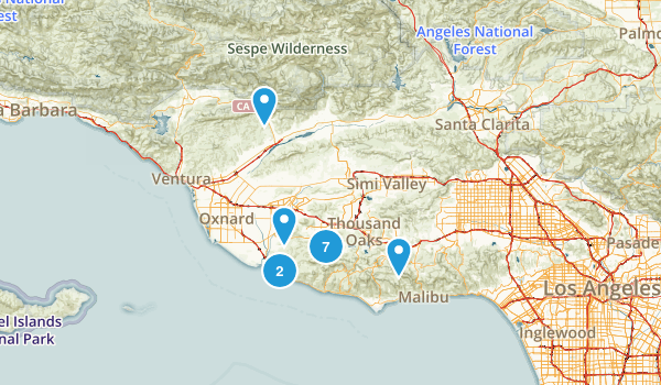 Near Camarillo Map
