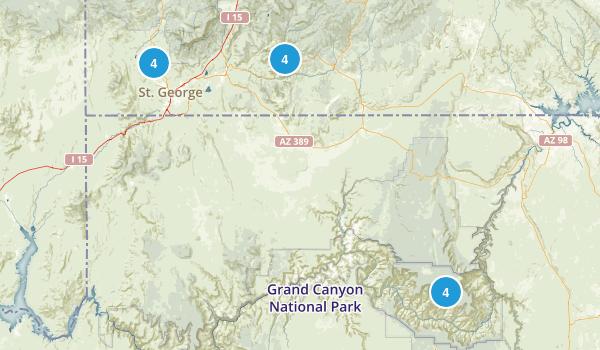 grand canyon trip Map