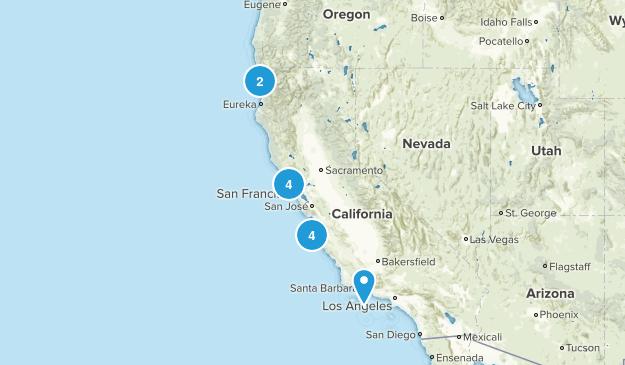 Cali Hikes Map