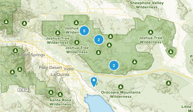 Joshua Tree NP Map
