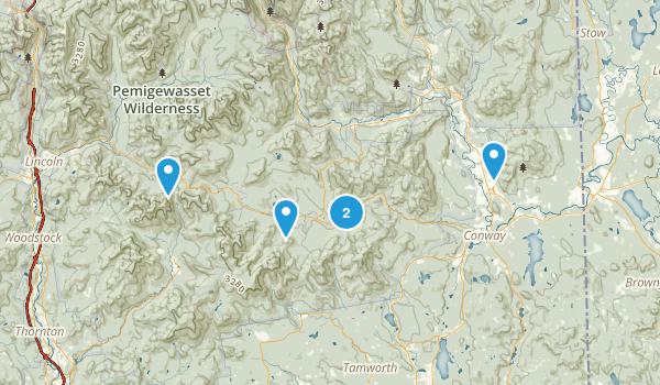 North Conway Map