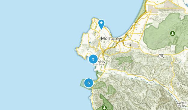 Monterey Map