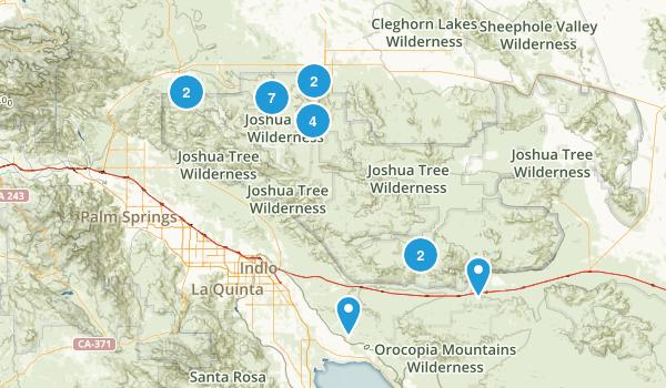 Joshua Tree Map