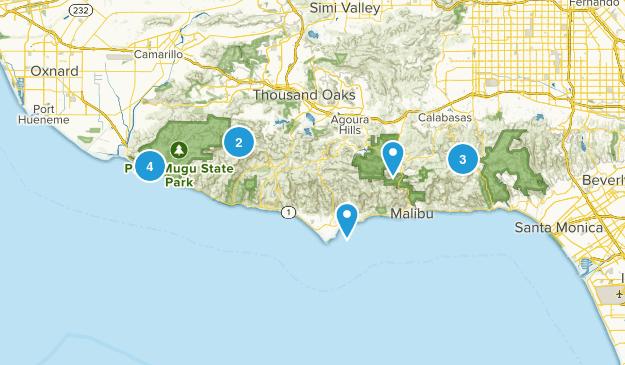 Malibu and Topanga  Map