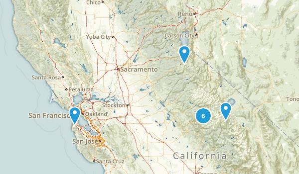 CA Vacation Map