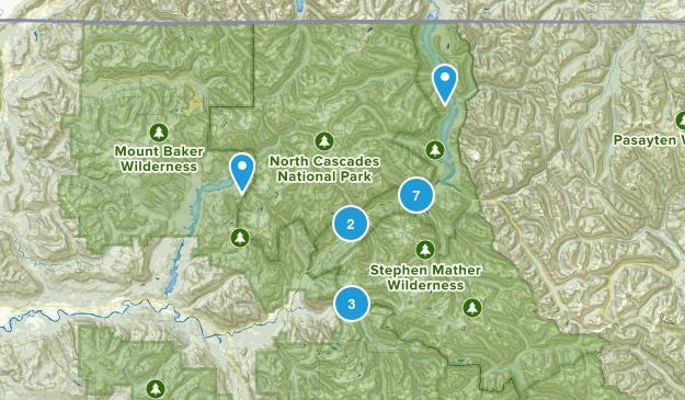 North Cascades National Park Map