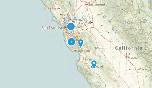 Div Trails Map