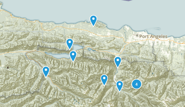 Port Angeles, WA Map
