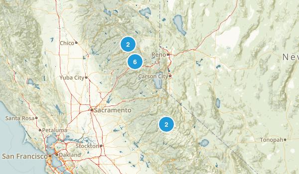 CA Truckee Options Map