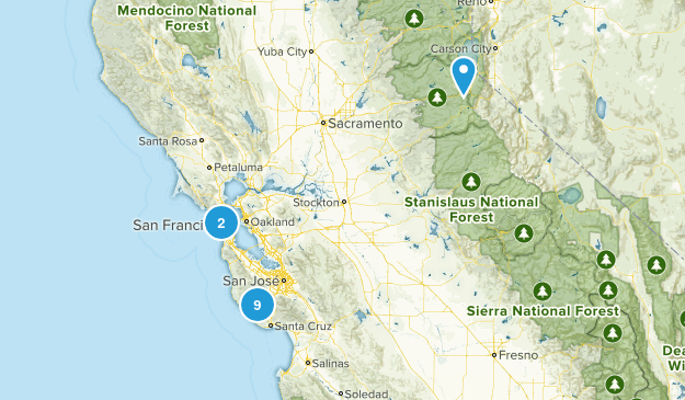 South Bay Trails Map