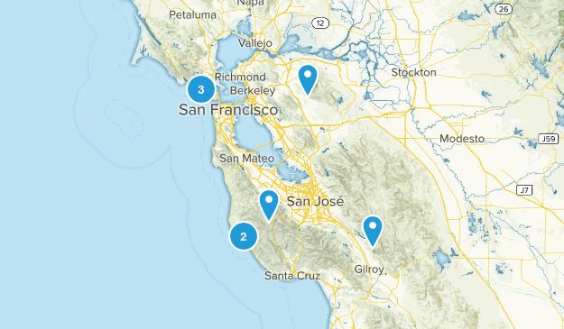 half dome training  Map