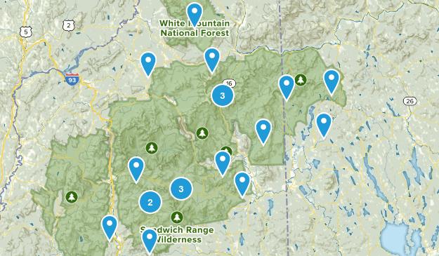Trek 2 Wt. Mnts. Map