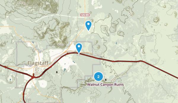 flagstaff Map
