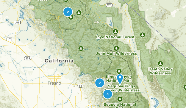 backpacking Map
