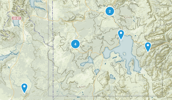 2017 Yellowstone Trails Map